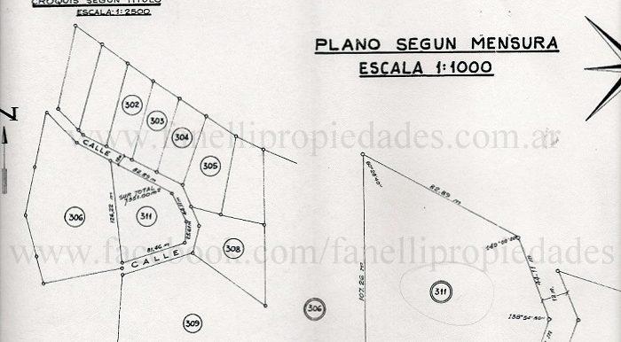 Plano terreno Villa Angostura0001
