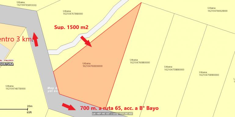 Plano ubicación lote 3